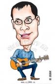张砚钧名人漫画--歌手