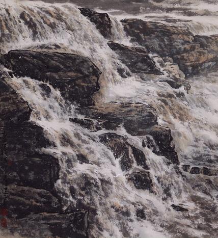 彩铅山水画简单的铅笔画分享展示