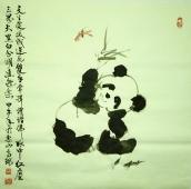 巴蜀熊猫诗意画派创始人高