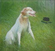 《爱犬》金艺在(1800)90