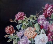 玫瑰系列之三   3500元