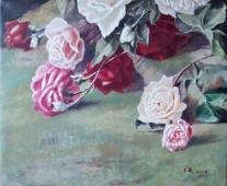 玫瑰系列之四   3500元