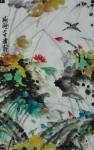 荷趣  42x66厘米  880元 写意国画