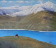 高原小马 3980元 布面油画