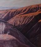 黄土地  布面油画3980元  70x80厘米