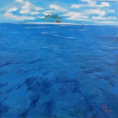 王捷 《小椰岛》   4800元